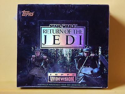 """Star Wars """"Return of the Jedi"""" Topps Widevision set"""