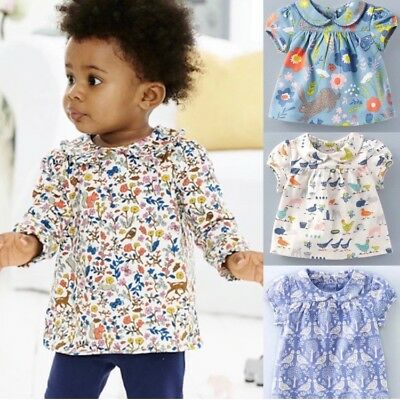 NEW IN LIMITED STOCK Baby Boden Pretty Collar Tops 0-3 Months- 4Yrs