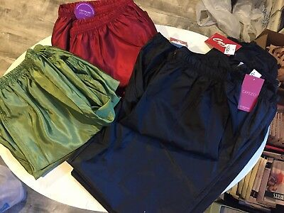 Capezio & Covet Rip Stop /Trash Bag Pants & Shorts - NEW - multiple size/color