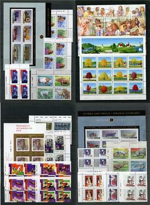 Canada 1993, 1994 Commemorative Imprint Blocks, Sheets etc. MNH