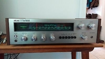 akai aa-8030 vintage receiver amplifier