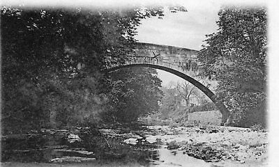 OLD MD POSTCARD 1900's - GLASGOW - CATHCART OLD BRIDGE