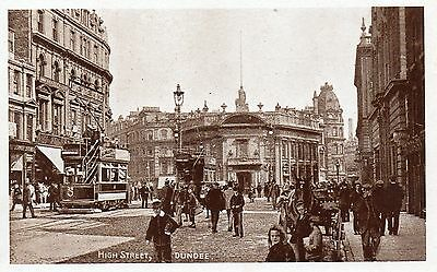 OLD TP SERIES POSTCARD 1900's - DUNDEE - HIGH STREET