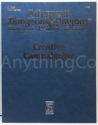 AD&D - 2133 - DMGR5 - Rules Supplement - Creative Campaigning - New