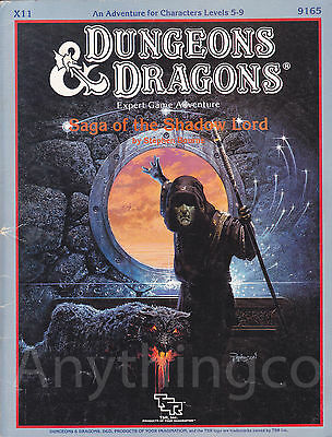 9165 - Advanced Dungeons & Dragons - X11 Saga of the Shadow Lord