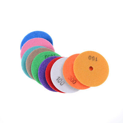 Diamond Polishing Pads 3 inch wet/dry Granite Marble Concrete Stone RS