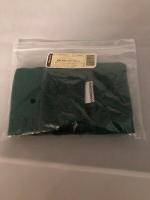 LONGABERGER IVY GREEN SOLID LINER for SMALL SERVING TRAY BASKET NIB