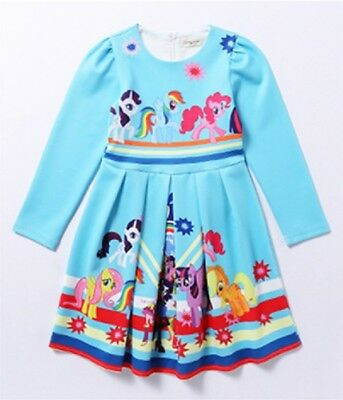 LOVELY GIRLS MY Little Pony Long Sleeve Party Holiday Birthday ...