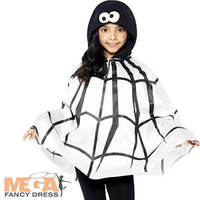 Spider Cape Kids Fancy Dress Halloween Insect Bug Animal Book Day Childs Costume