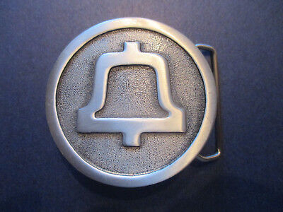 Vintage South Central Bell Advertising Belt Buckle.  Employee Premium