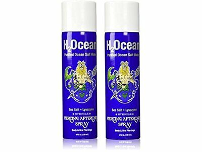 H2Ocean Piercing Aftercare Spray, 4 Ounce- pack of 2