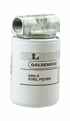 "GOLDENROD (595-3/4) Canister Fuel Tank Filter with 3/4"" NPT Top Cap"
