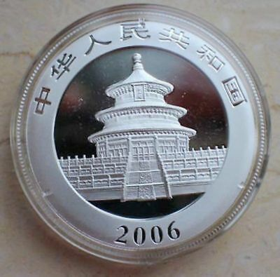 2006 Chinese 1oz Pure Silver china Panda Coin With the Box  04