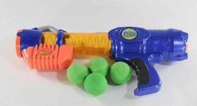 Nerf Reactor Foam Ball Atom Blaster Toy Gun Complete with 4 Balls