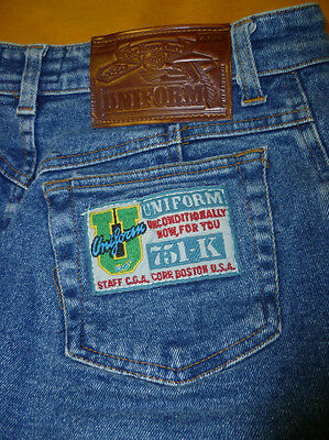 Vintage - Mini jeans Uniform originale