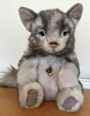 Charlie Bears Sniffle - Chinchilla - Retired