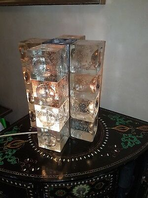 Table Lamp Poliarte Verona 16 Cubi.