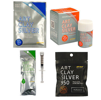 Art Clay Silver NEW Formula Precious Metal Clay Silver Clay (PMC)