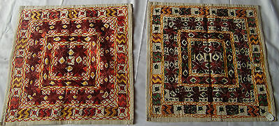 Traditional Old Vintage Embroidery Cushions/pillow Cover India Fine India Art 27