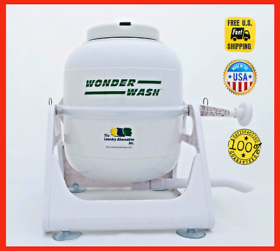 Wonderwash Non Electric Portable Compact Mini U0026 Small Washing Machine