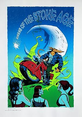Queens of the Stone Age Poster 2008 Edmonton Concert