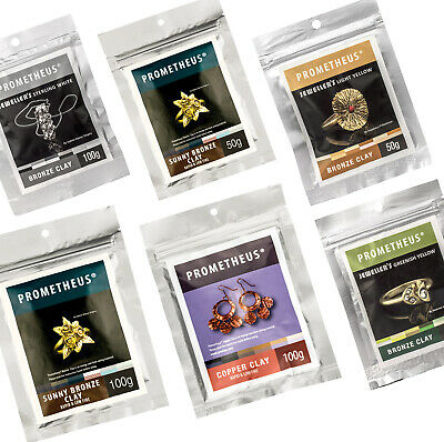 Prometheus Low Fire Jewellers Copper and Bronze Base Metal Jewellery Makers Clay