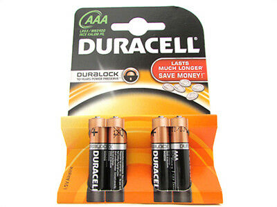 A2Zworld Cell Battery Duracell Alkaline Lr03 Mn2400 Tipo Minicylinder Aaa 1,5V