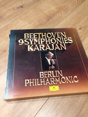 Beethoven 9 Symphonies LP Box Set