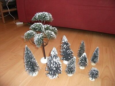 Lemax miniature trees set 1