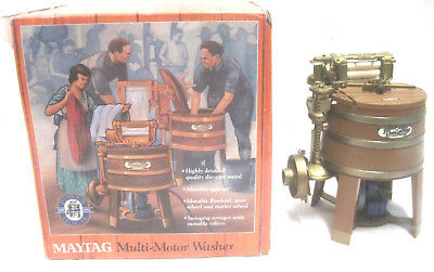 Ertl Diecast Maytag Multi-Motor Washer 1993 1/6 Scale #4967 New in Open Box; EXC