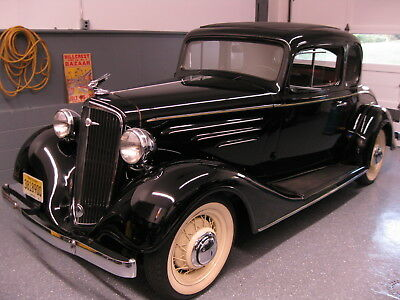 1934 Chevrolet Other coupe 1934 chevrolet Master 5 window coupe