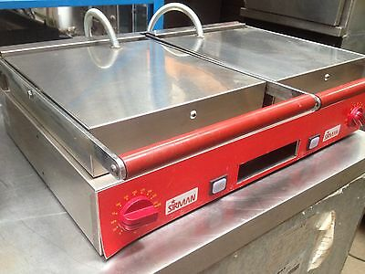 Sirman double ribbed panini Machine/ toaster /contact grill