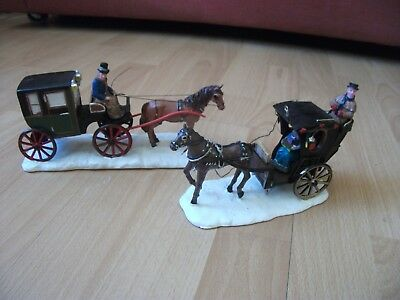 Lemax Horse and carriage