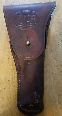 WWII M1911 Leather US Holster Sears 45 AUTO