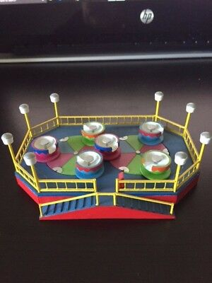 HO Scale Carnival Ride Renauld's Midway Miniatures Tea Cup Ride. (NON Motorized)