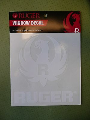 New Officially Licensed Ruger Window Decal - White Eagle Pattern