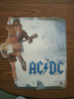 Collectible Promotional Acdc Poster