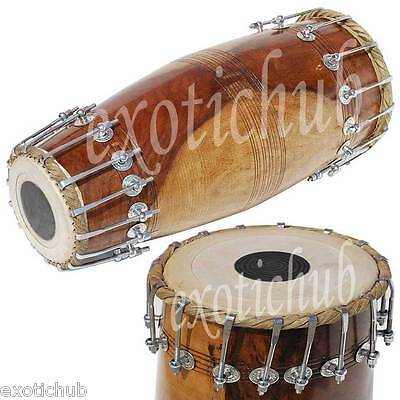 Mridanga Drum Shesham Wood~Hand Made Indian~Mridang~North Indian~Yoga~Kirtan~
