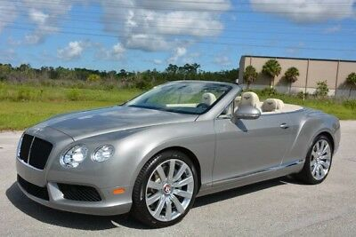 2013 Bentley Continental GT GTC V8 Convertible 2-Door 2013 Bentley Convertible