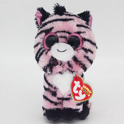 "Ty Beanie Boos 6"" Zoey Stuffed Plush Toy Soft Animal Toy Boys&Girls Plush Dolls"