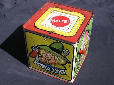 1971 Vintage Mattel MOTHER GOOSE IN THE MUSIC BOX Little Bo Peep Boy Blue