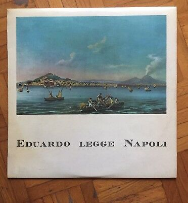 Eduardo De Filippo 'eduardo Legge Napoli' Rare Lp / Vinyl Sealed In Cellophane