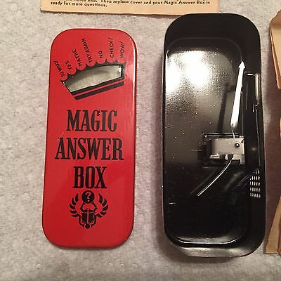 Wheaties 1938 Premium~Jack Armstrong~Magic Answer Box~Orig Antique Toy