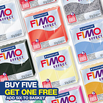 Fimo Effect 57G Modelling Clay - Choose From 30 Different Types