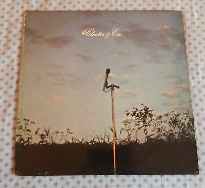 Cluster & Eno -Cluster & Eno- TOP OBSCURE ELECTRO/AMBIENT/EXPERIMENTAL ROCK LP