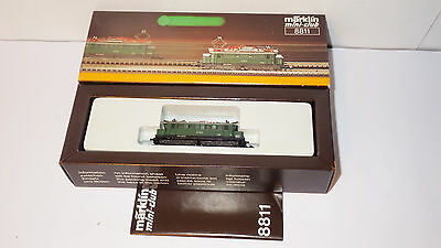 ▀▄▀▄ Märklin miniclub Z locomotive électrique DB BR 144 014-8 8811 ▀▄▀▄