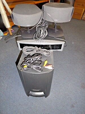 Bose 3-2-1 321  Series II  Home Entertainment DVD Theater Media System