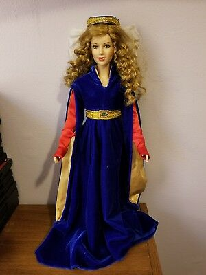 Franklin Mint Guinevere doll