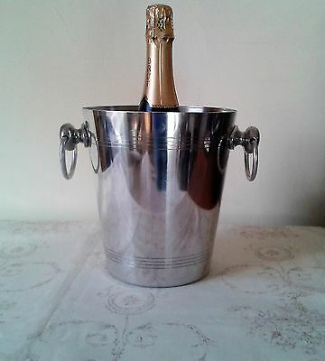 Stainless Steel Champagne/ice Bucket Wine Cooler