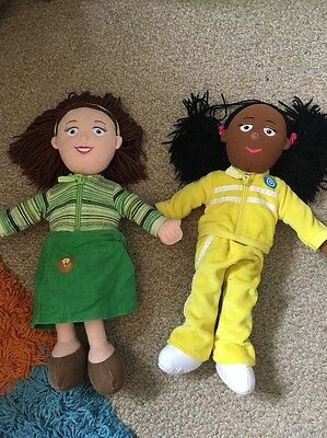 Josie Jump And Miss Hollie Soft Talking Toys From Balamory